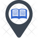 Book Library Location Icon