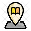 Location Education Book Icon