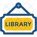 Library Signboard Icon