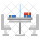 Library Table Icon