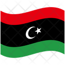 Flag Country Libya Icon