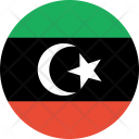 Libya Flag Country Icon