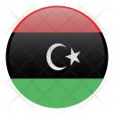 Libya Country Flag Icon