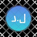 Libyan Dinar Icon