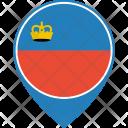 Liechtenstein Flag World Icon