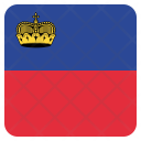 Liechtenstein National Country Icon