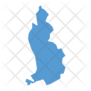 Liechtenstein Map Country Icon