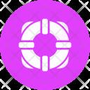 Life Buoy Safety Icon