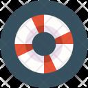 Life Belt Preserver Icon