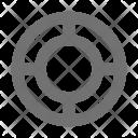 Life Belt Buoy Icon