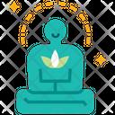 Life Balance Meditation Yoga Icon