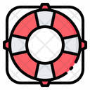 Life Buoy Ring Icon