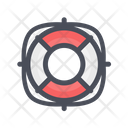 Life Buoy Ring Buoy Life Belt Icon