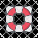 Life Guard Lifesaver Save Guard Icon