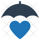 Heart Protection Insurance Life Icon