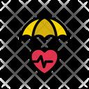 Umbrella Protection Life Icon