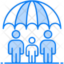 Life Insurance Family Insurance Human Care Icon