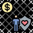 Insurance Care Money Icon