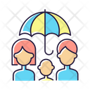 Life Family Insurance Icon