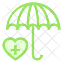Protection Secure Umbrella Icon