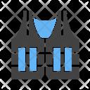 Police Jacket Vest Icon