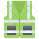 Worker Vest Building Icon