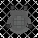 Chest Life Jacket Icon