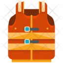 Jacket Life Vest Icon