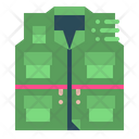 Fishing Vest Camping Icon