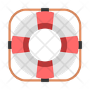 Life Ring Rubber Icon