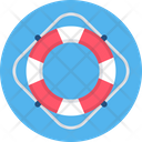 Life Ring Sign Icon