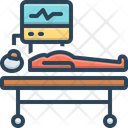 Life Support Hospital Patient Icon