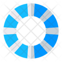 Float Wave Water Icon