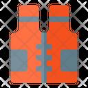 Vest Buoy Life Jacket Safety Guard Icon