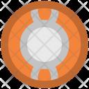 Lifebelt Lifesaver Protection Icon