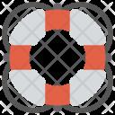 Lifesaver Lifeguard Ring Icon