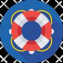 Lifeguard Lifebuoy Lifesaver Icon