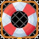 Lifebuoy Help Sea Icon