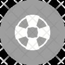 Lifebuoy Swimming Tire Icon