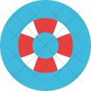 Lifebuoy Sea Lifering Icon