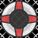Lifebuoy Lifesaver Lifeguard Icon