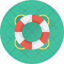 Life Buoy Ring Icon
