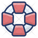 Lifebuoy Life Preserver Life Saver Icon