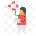 Lifebuoy Life Preserver Lifebelt Icon