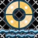 Swim Ring Life Ring Life Buoy Icon