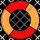 Lifebuoy Float Safety Icon