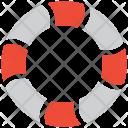 Lifebuoy Lifebelt Lifesaver Icon