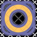 Lifesaver Rescue Ring Icon