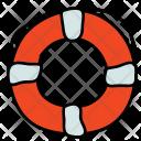 Lifebuoy Life Preserver Icon