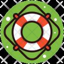 Lifebuoy Tube Tyre Icon